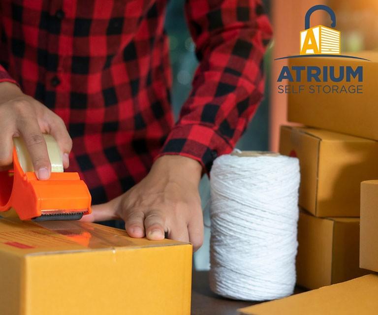 Atrium Self Storage Packing Tips Hints