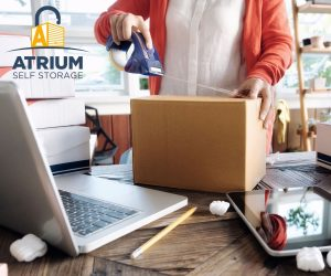 Atrium Business Self Storage Packing Boxes