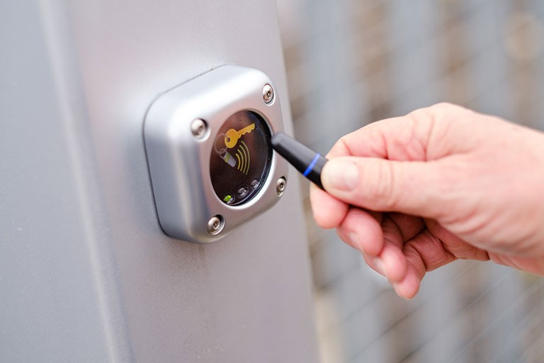 Atrium Self Storage Security Fob 24 hour access