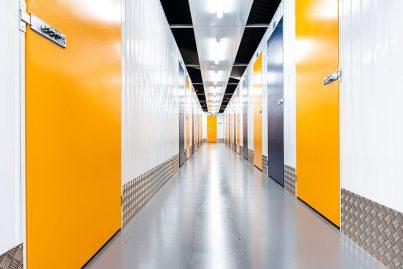 Atrium Self Storage Interior Corridor